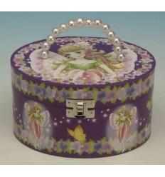 Malote oval com fada lilás