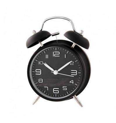 Relógio despertador mecanismo silencioso