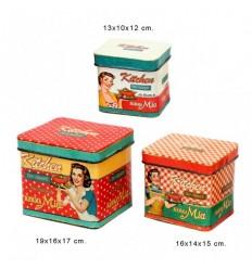 Conjunto caixas vintage