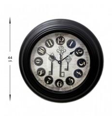 Relógio parede chaves