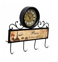 Cabide com relógio