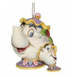 Mrs Potts & Chip - Hanging Ornament