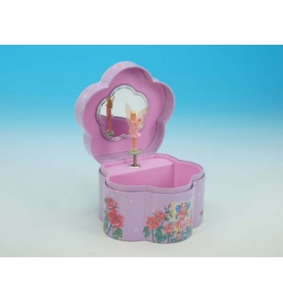 Caixas de joias em forma de flor