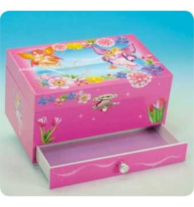 "Caixa de joias ""Fada das Flores"""