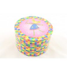 Caixa colorida fada