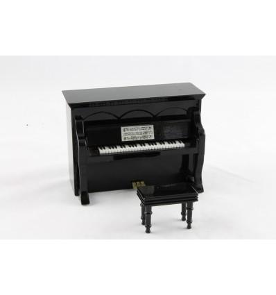 Piano com música de corda
