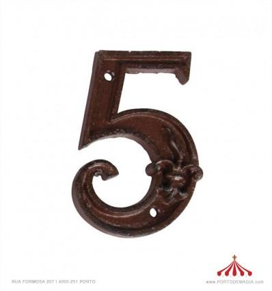 Nº de porta - 4