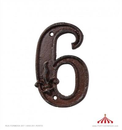 Nº de porta - 5