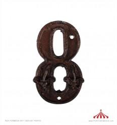 Nº de porta - 8