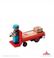 Carro plataforma carga