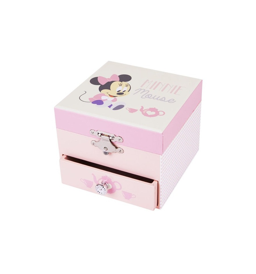 Caixa m sica minnie mouse for Minnie mouse jewelry box