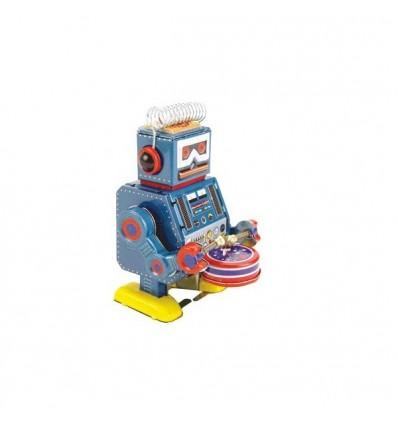 Robot Tambor Azul Pequeno