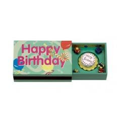 """Caixa de fósforos """"Happy Birthday"""""""