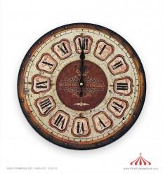 Relógio de estação 15cm