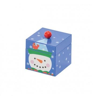 Mini POM POM Snowman