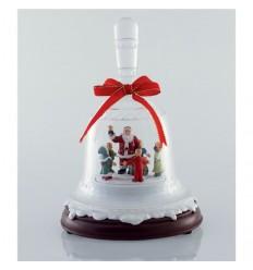 Bell Santa made of acryl