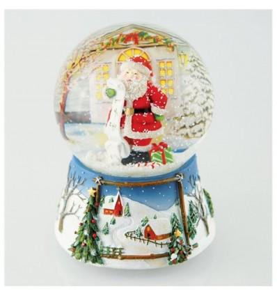 Bola de neve Pai Natal lista de prendas