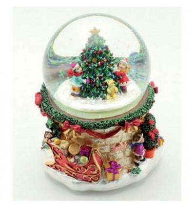 Árvore com meninos - Bola de Neve