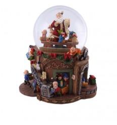 Snow globe Christmas workshop