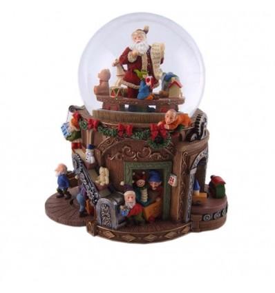 Oficina Natal - bola de neve