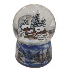 Bola de Neve Casa Inverno
