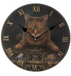 Relógio Gato do Tarot de Lisa Parker