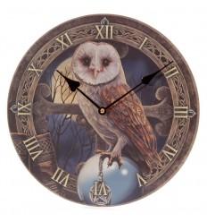 Relógio imagem coruja de Lisa Parker