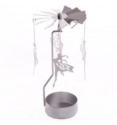 Porta velas fadas - metal