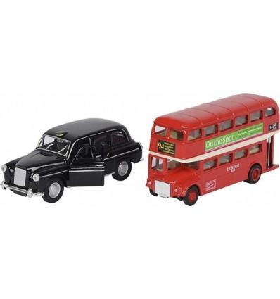 London bus & taxi