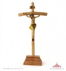 Crucifixo madeira 38cm
