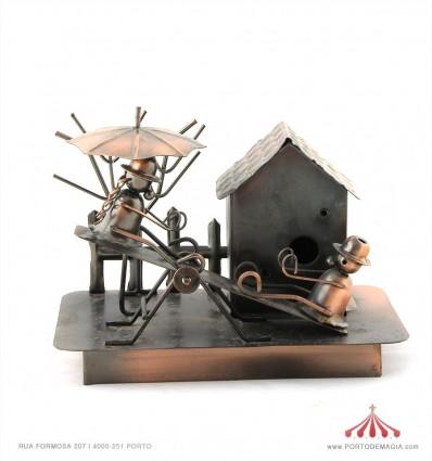 Casa Baloiço - Latão Bronze