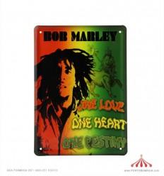 Quadro chapa Bob Marley