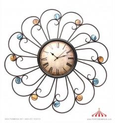 Relógio parede metal 67