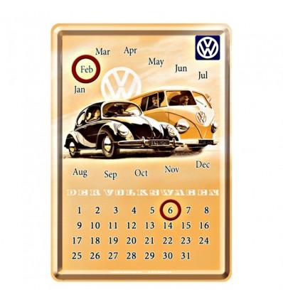 Calendário mesa Volkswagen