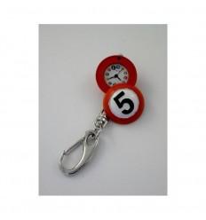 Relógio Porta-chaves bola bilhar nº 5