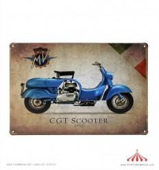 Quadro chapa CGT Scooter 1952