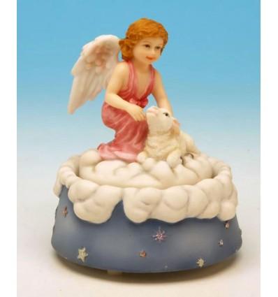 O anjo com ovelhas em Polystone