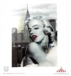 Quadro 3D Marilyn Monroe 2
