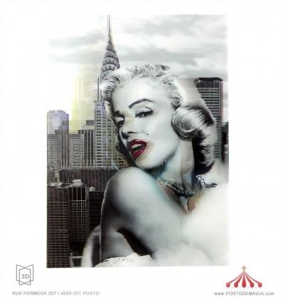 3D Marilyn Monroe 2