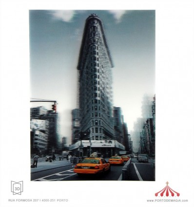 Quadro 3D City Bank