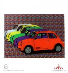Quadro 3D cinquecento cores