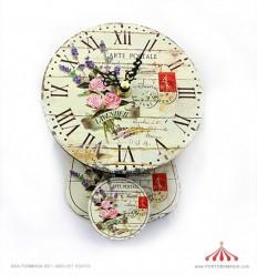 Relógio com pêndulo