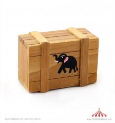 Caixa Mágica madeira 8cm
