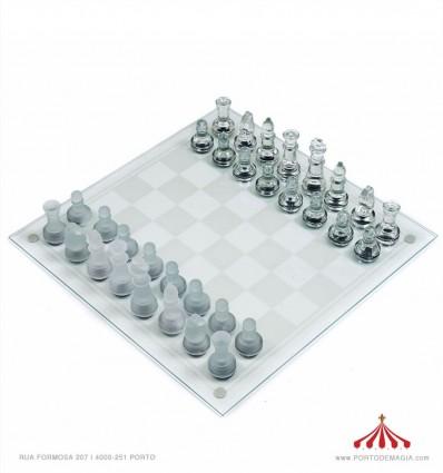 Xadrez Cristal reconstituído 25x25