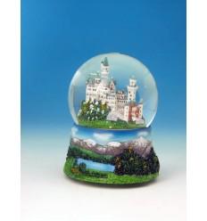 Neuschwanstein o castelo na bola gira