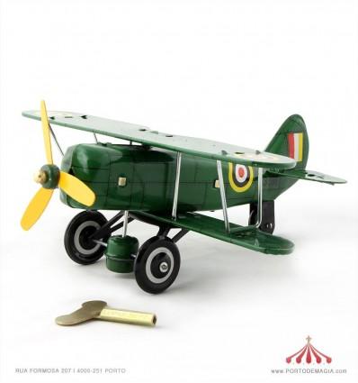Avião Biplano Curtiss