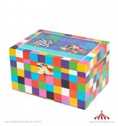 Caixa de música Elefante Elmer
