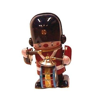 Soldado músico tambor e pratos