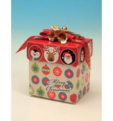 Caixa para presente natalício
