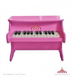 Piano rosa pequeno